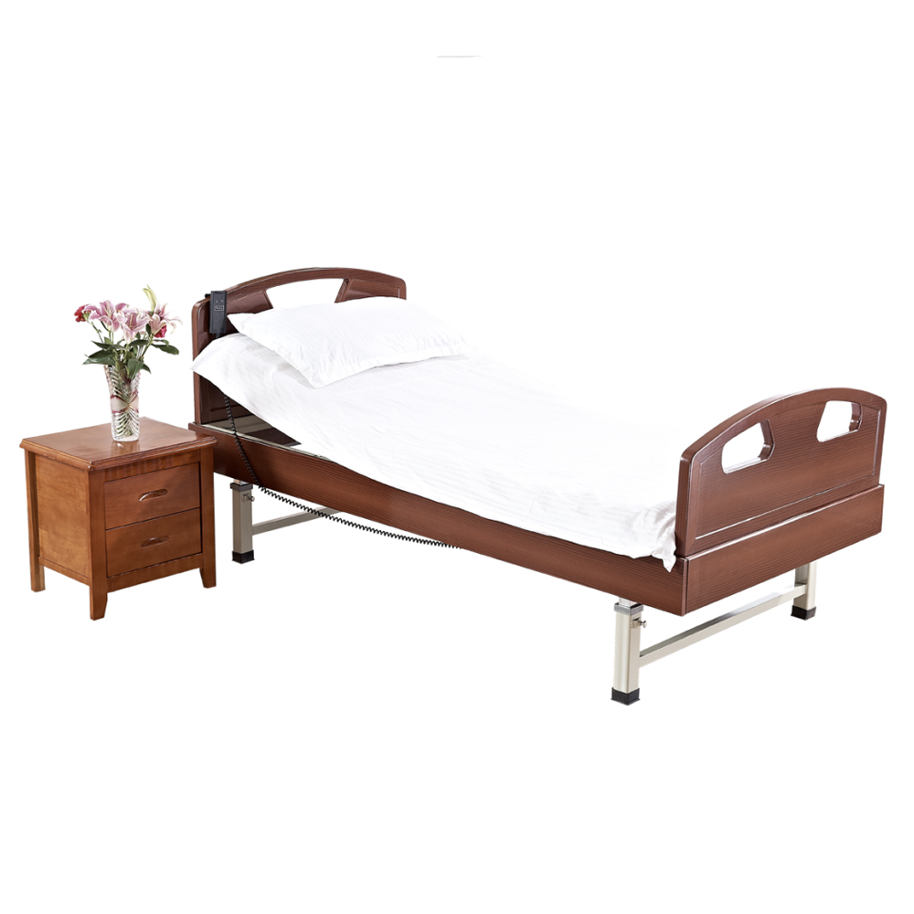 Rc 053 10666 hot sale home care bed double motor control for Beds 4 sale