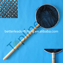 Fishing round koi nets with wooden handle