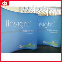 portable trade show pop up display stand for advertising