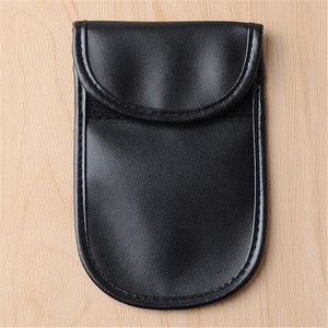 High Quality Double Layers Cell Phone Anti Radiation Signal Shielding Bag Pouch Case For cell phone