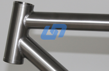 Gates carbon system belt drive bike titanium frame with custom logo
