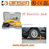 DINSEN DC 12v vehicle tool electric scissor jack for 2.ton loading capacity