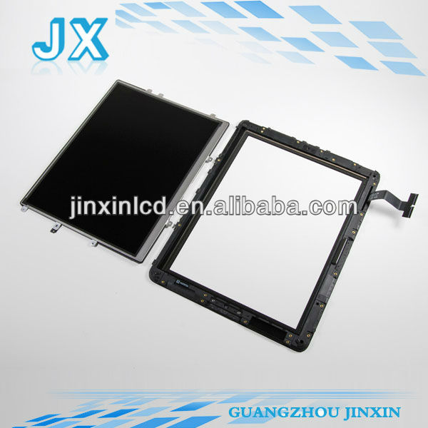 Oem quality original wholesale for apple ipad 1 lcd