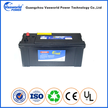 best selling high temperature resistant superior quality small car N200MF truck battery