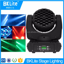 BKLITE New style high quality cheap 36x3w 3in1 wash led moving head light