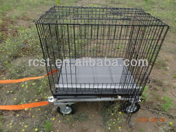 Caged trolley
