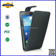 leather case for Samsung Grand Max, flip leather case leather pouch for samsung galaxy grand max Laudtec