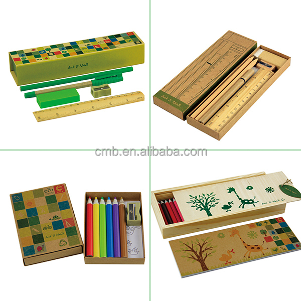 Hot sale coloring and drawing picture of pencil box for Wholesale arts and crafts suppliers
