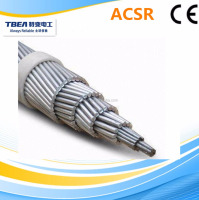 ACSR zebra conductor aluminum overhead bare cable with bs215-part2 standard