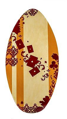 High Quality Wooden Surfboard Surfing Skimboard
