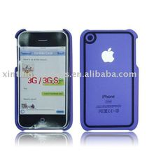 Hard Rubberized Case protect your iphone 3g 3gs perfectly