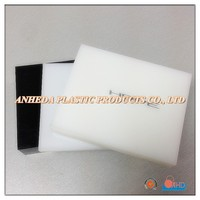 White & Black Smooth Surface HDPE Sheet