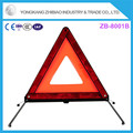 ABS+PMMA material Emergency Roadside warning triangle distance from car