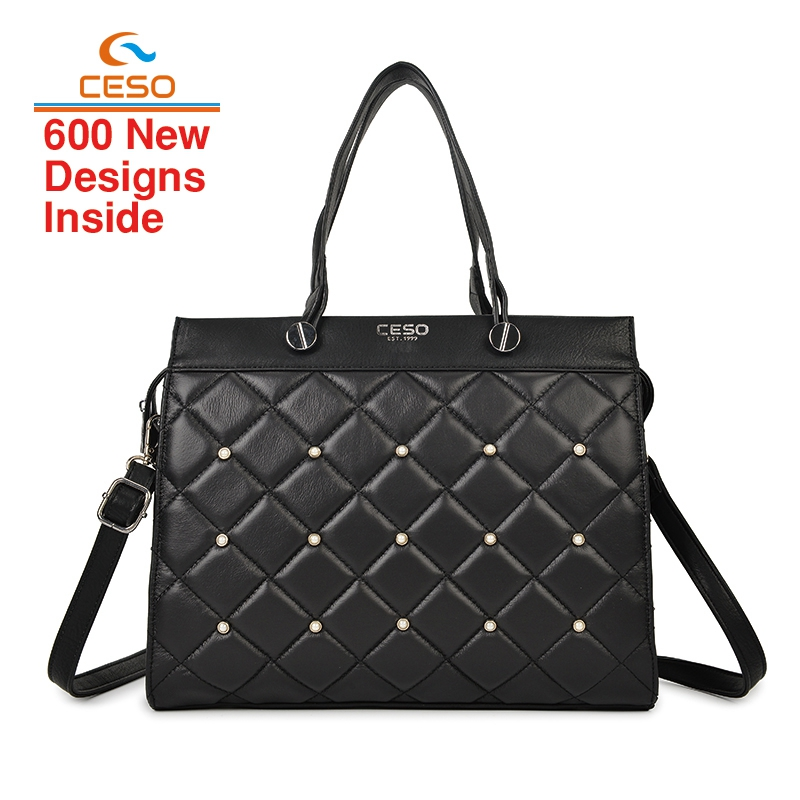 2018 new model embroidery Geniune leather bags handbags fashion for women tote handbag