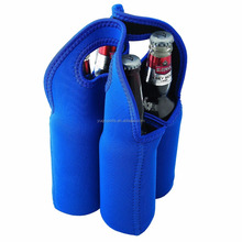 Travel Insulated Wine Carrying Case Cooler Tote Bag with Strong Handle