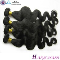 Natural Black Color 18 Inch Body Wave Professional Indian Cheap Remy Human Hair