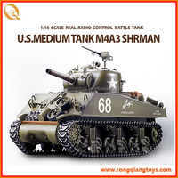 NEW 1/16 Radio Control Sherman Military Rc Tank RC24173898