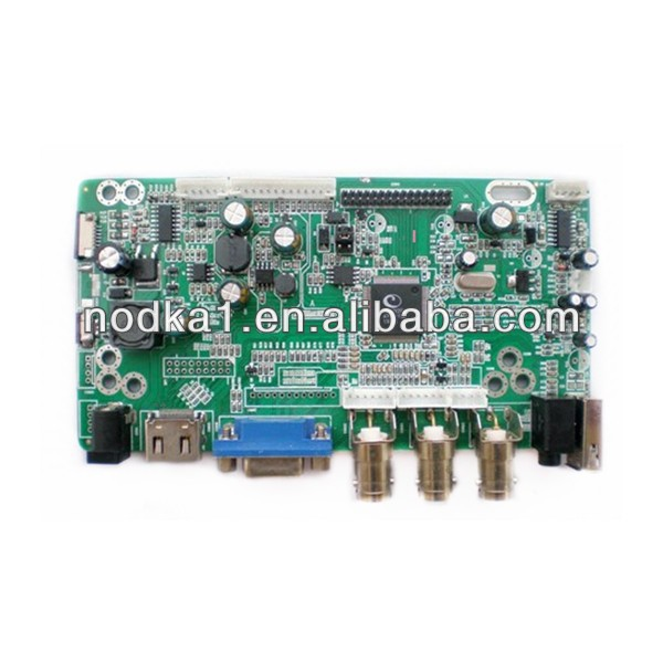 TFT LCD display driver board,support for VGA+HDMI+2AV+USB,1920*1080