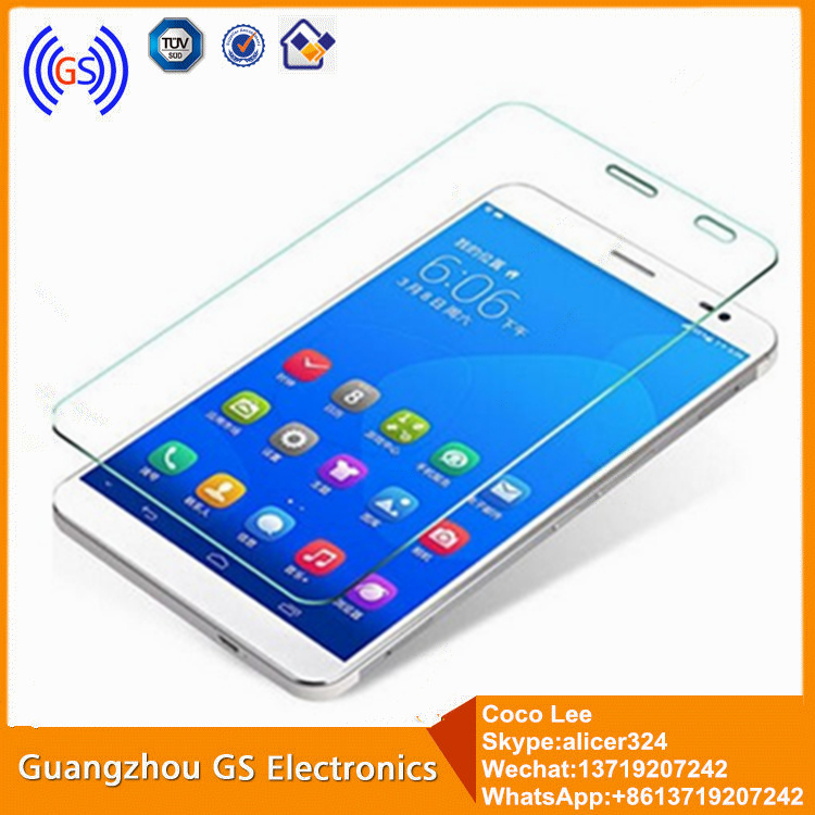 Anti Fingerprint Resistant Tempered Glass Clear Screen Protector For Huawei Ascend G700