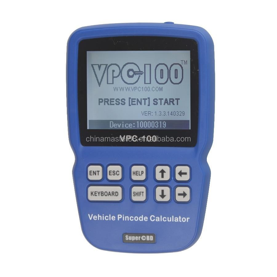 New Version VPC-100 Pin Code Calculator with 300+200 Tokens