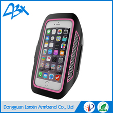Wholesale super slim durable lycra elastic sports armband waterproof case for meizu mx4 and iphone 5/SE