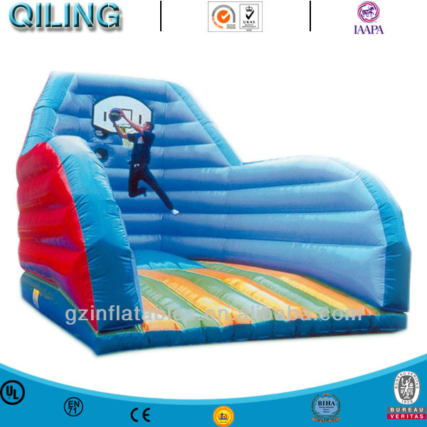 Inflatable sport games basketball slam dunk bouncer