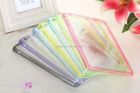 Popular soft dustproof case transparent tpu covers for ipad mini4/ipad5