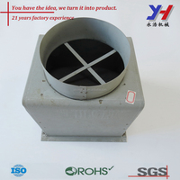ISO9001 and RoHS Certified High Quality Custom Spot Welded Stove Flue