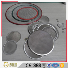 Alibaba trade assure 304 316 Stainless Steel Wire Mesh Filter / Mesh Filter for filtration