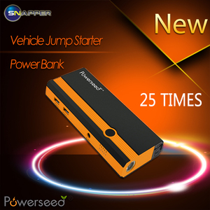 Portable Car Jump Starter Power Bank Supplies Car Battery With LED Flash Light/USB Device Charging Ports Free Jumper Cables