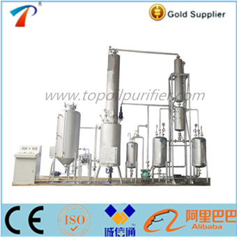 hot sale portable oil distilling machine with oil recycling system