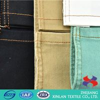 Latest Hot Selling denim fabric stock lot
