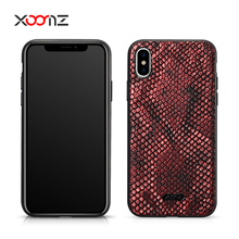 Xoomz Python Pu Leather Cell Mobile Phone Back Cover Case For Iphone Apple Cases