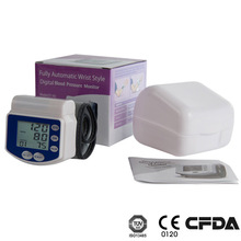 Aneroid Blood Pressure Monitor wrist type, voice or no voice, 60 groups memory, automatic GT-701 wrist type blood pressure meter