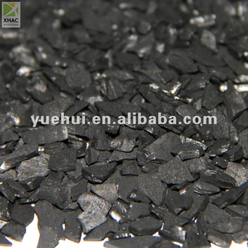 BESTING SELLING:ASTM 6*16MESH COCONUT SHELL BASE ACTIVATED CARBON FOR GOLD RECOVERY