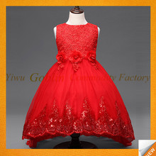 china manufacturer Latest Children Dress kids Designers One Piece Girl Party Dress GBEY-536
