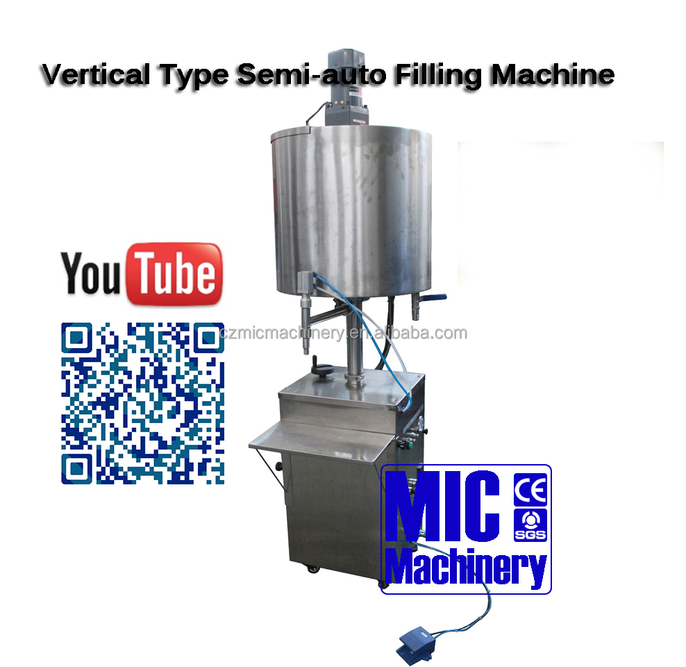 MICMachinery Most Popular Small Manual Milk / Yogurt Filling Machines