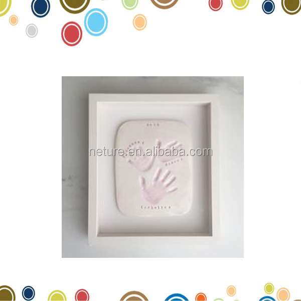 Baby Shower Gifts Sibling Clay Imprint Frame - Buy Imprint Frame ...