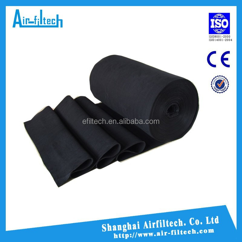 Panel Pocket Hepa activated carbon air filter cloth