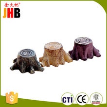 portable polyresin tree stump with CE certificates