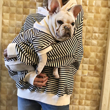 2018 Spring Matching Dog and Owner Clothes Stripe Pet Dog Clothes