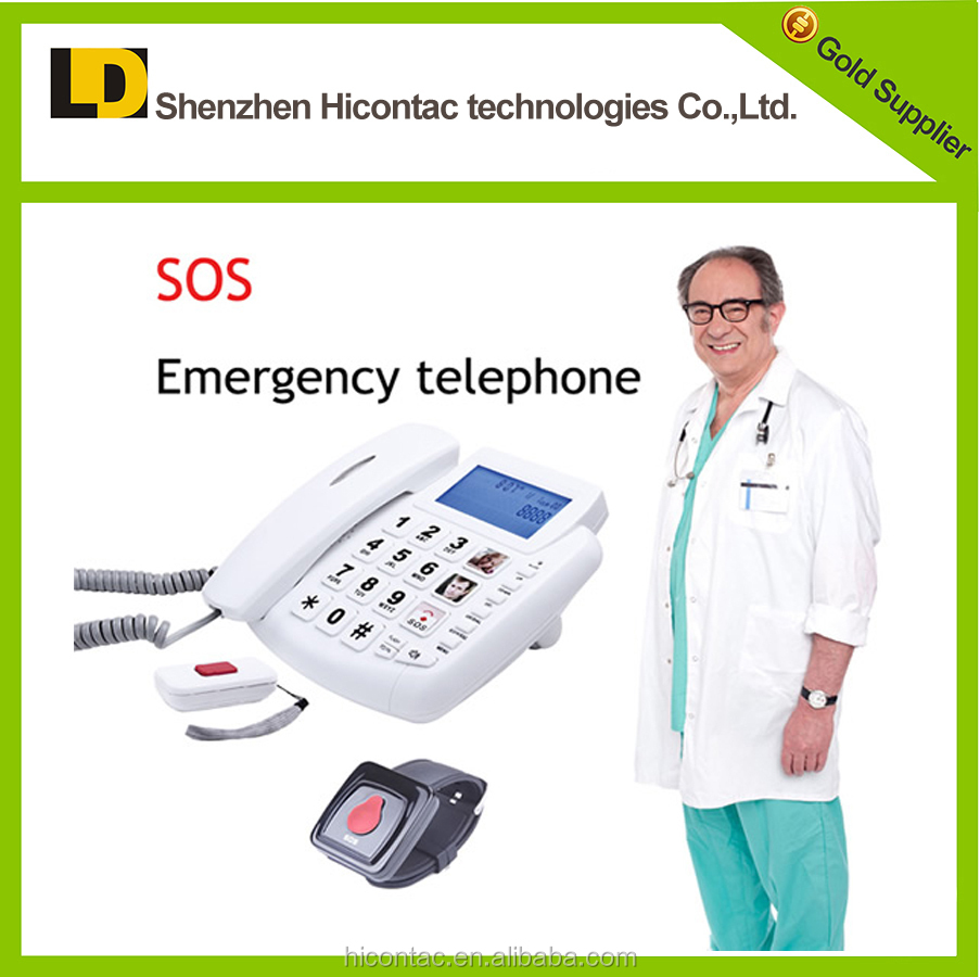 SOS emergency telephone for the elderly, analog telephone for old people