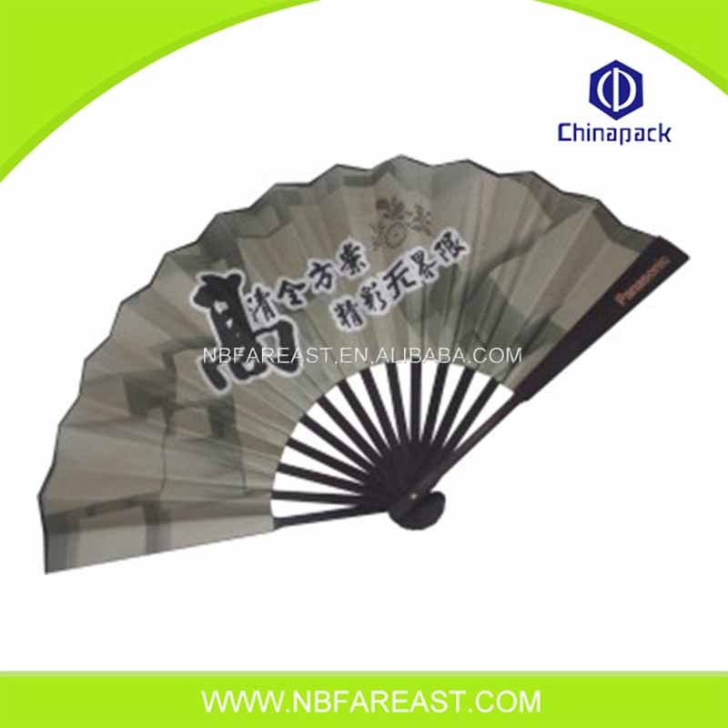Customized cheap hot sale promotion bamboo paper hand fan