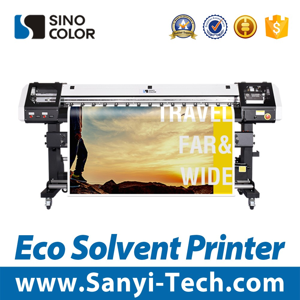 1440 dpi Eco solvent printer with DX5/ DX7 print head