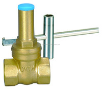 "High quality 1"" forged brass lockable gate valve"