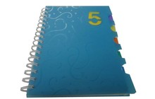 A4 custom cheap spiral notebooks wholesale
