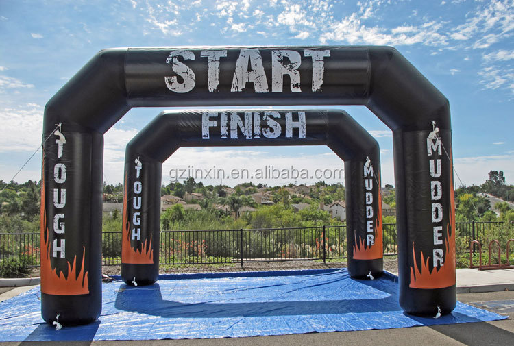 Cheap Inflatable Start Entrance Finish Line Archway Inflatable Arch for advertising