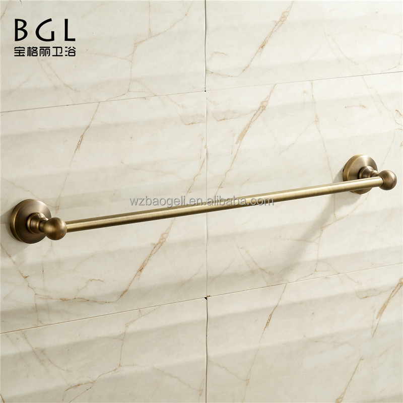 2015news antique bronze finish magnetic towel bar for bathroom accessories