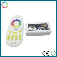 Milight Wifi RGBW led strip controller 2.4G 12 /24V 4 zone touch Dimmer rf led controller