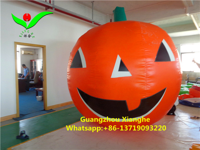 Artificial Inflatable halloween party pumpkin decoration 3mH